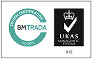 BM Trada ISO 9001 Certification